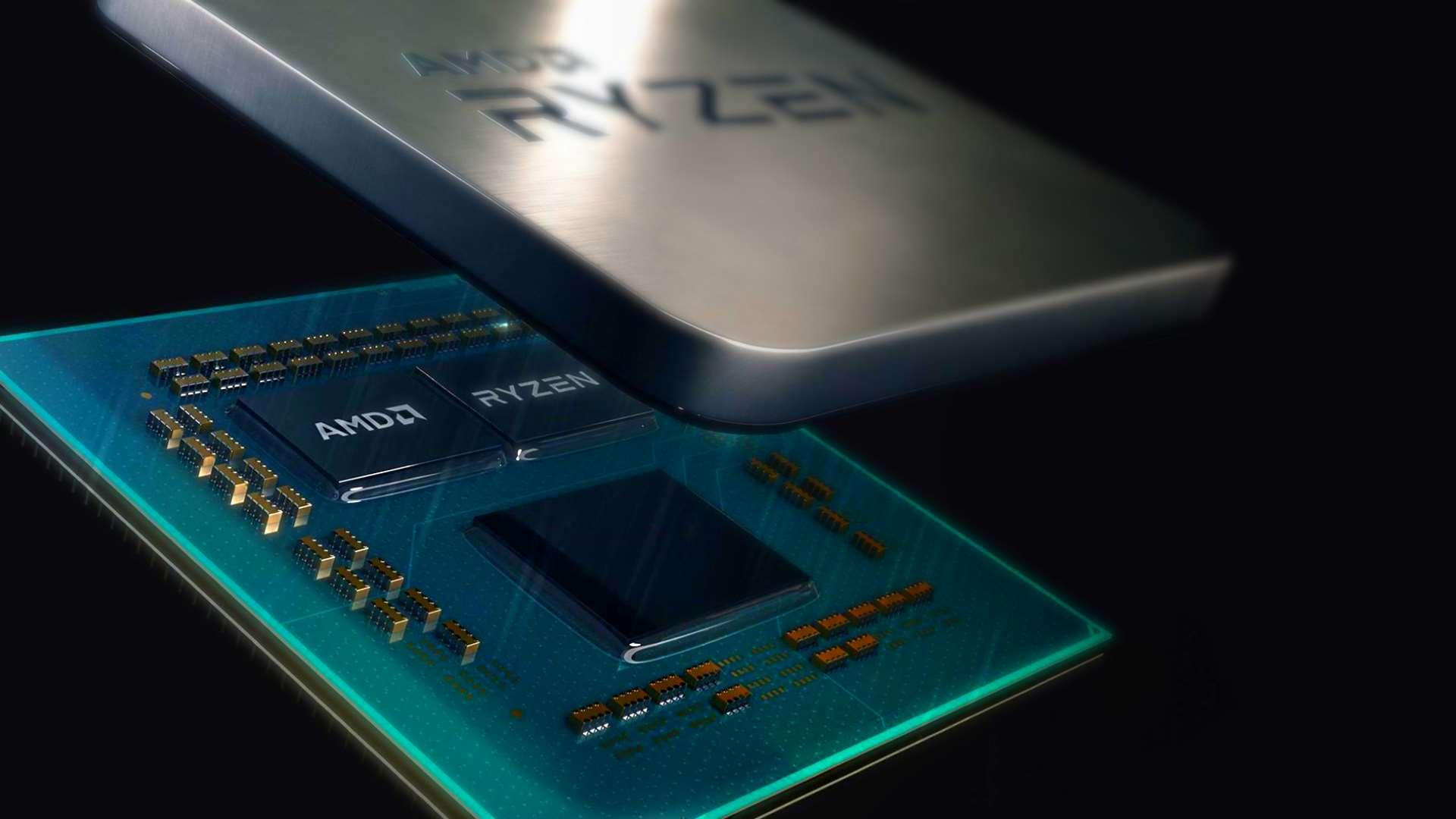 По време на анонса на своите 7 nm процесори миналия