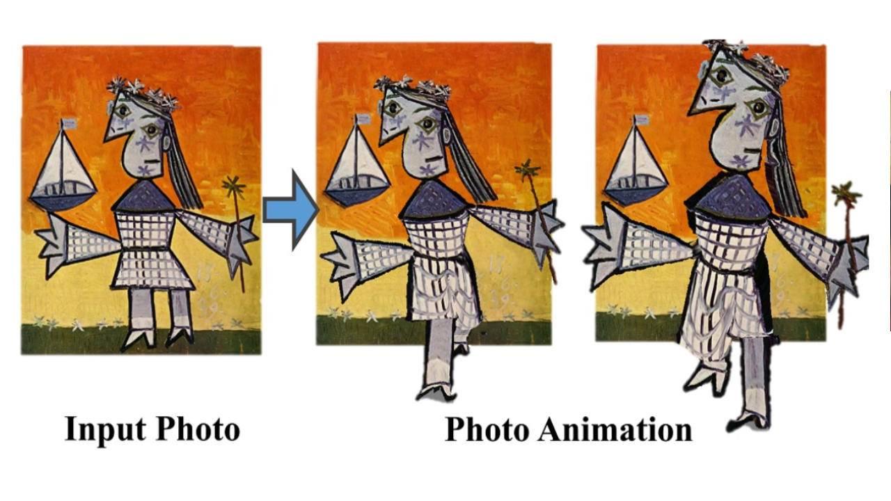 Нов AI механизъм анимира 2D изображения