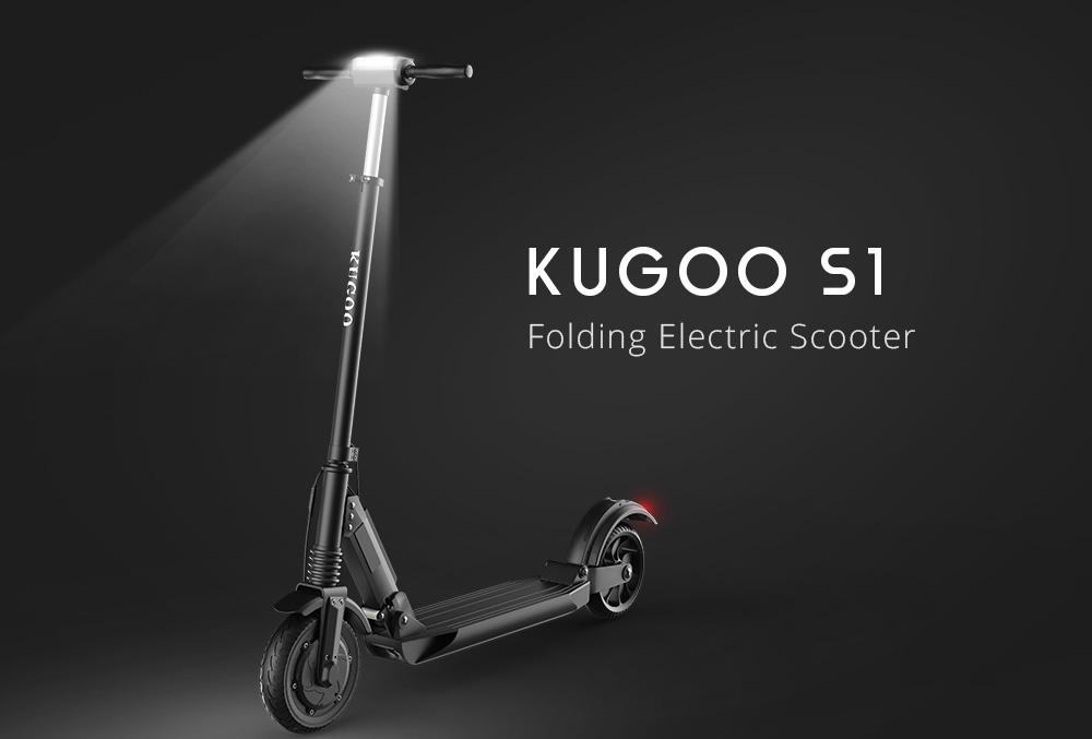 Електрическият скутер Kugoo S1 се състои от четири основни модула: