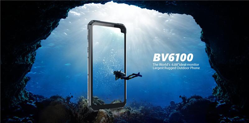 Снимка: BV6100: най-големият смартфон на Blackview с 6,88-инчов дисплей