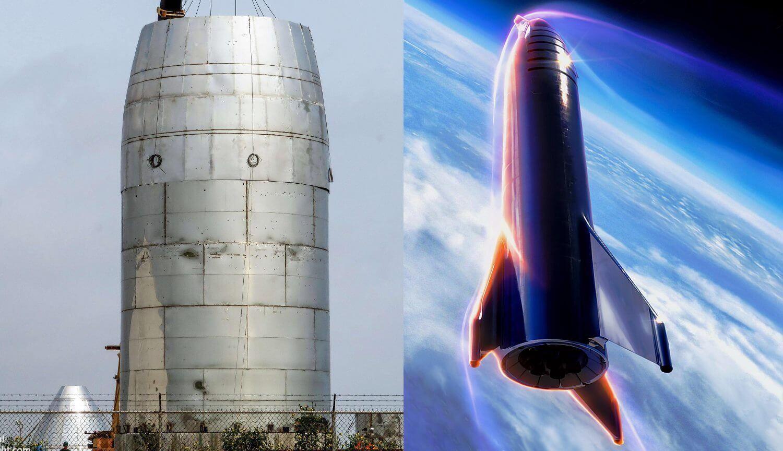 Снимка: При първия тестов полет Starship ще издигне на височина 20 метра