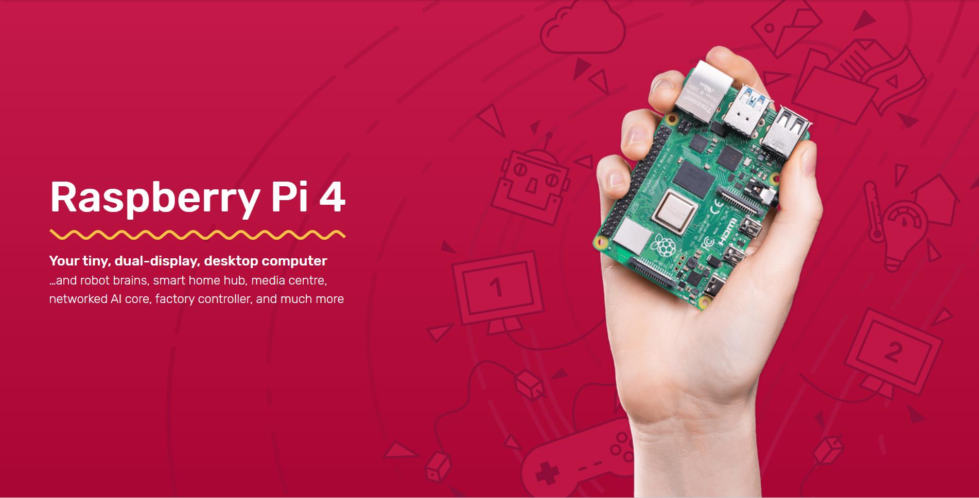По случай излизането на Raspberry Pi 4, миналата седмица екипа