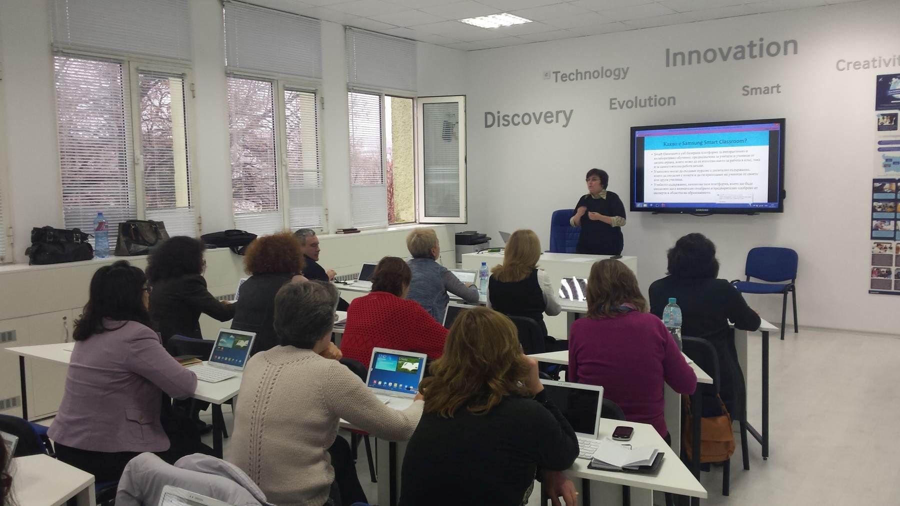 Снимка: Samsung България: Над 650 учители преминаха през обучения за модернизиране на учебния процес