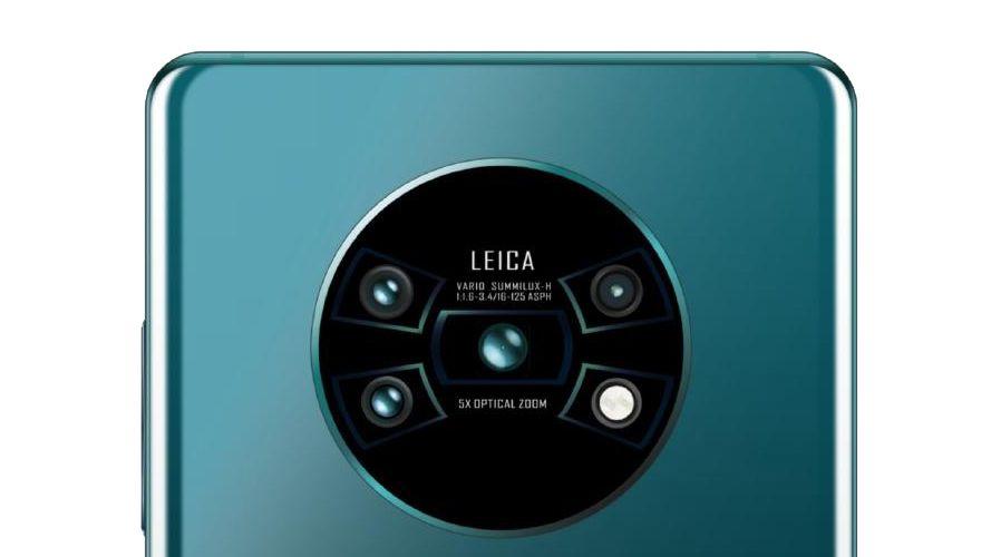 Снимка: Теч на информация за Huawei Mate 30 Pro показва изключителен масив от задни камери