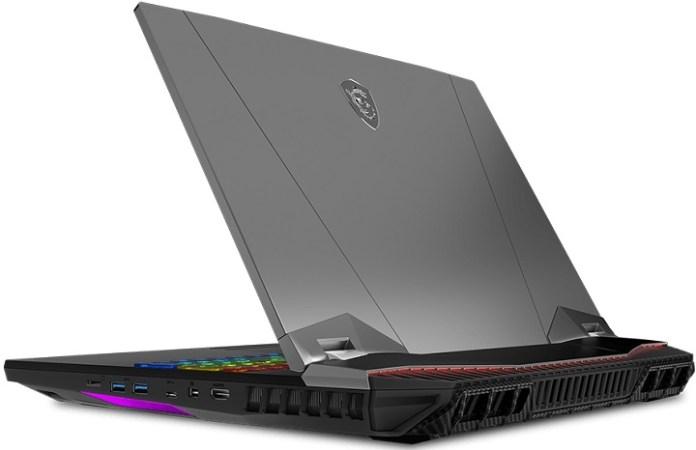 MSI   GT76 Titan DT,   Intel Core i9-9900K