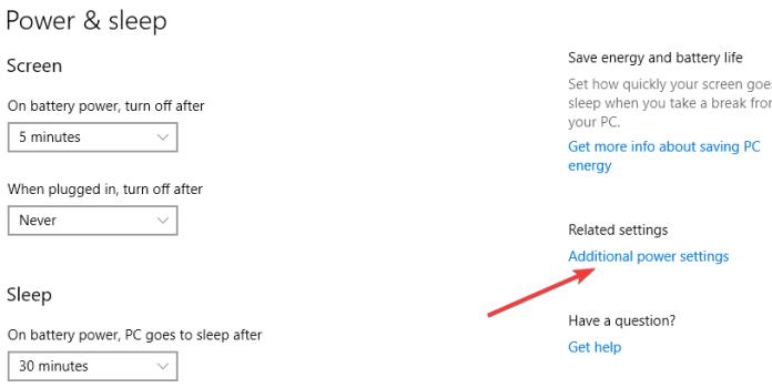 Променете енергийния план на вашия Windows