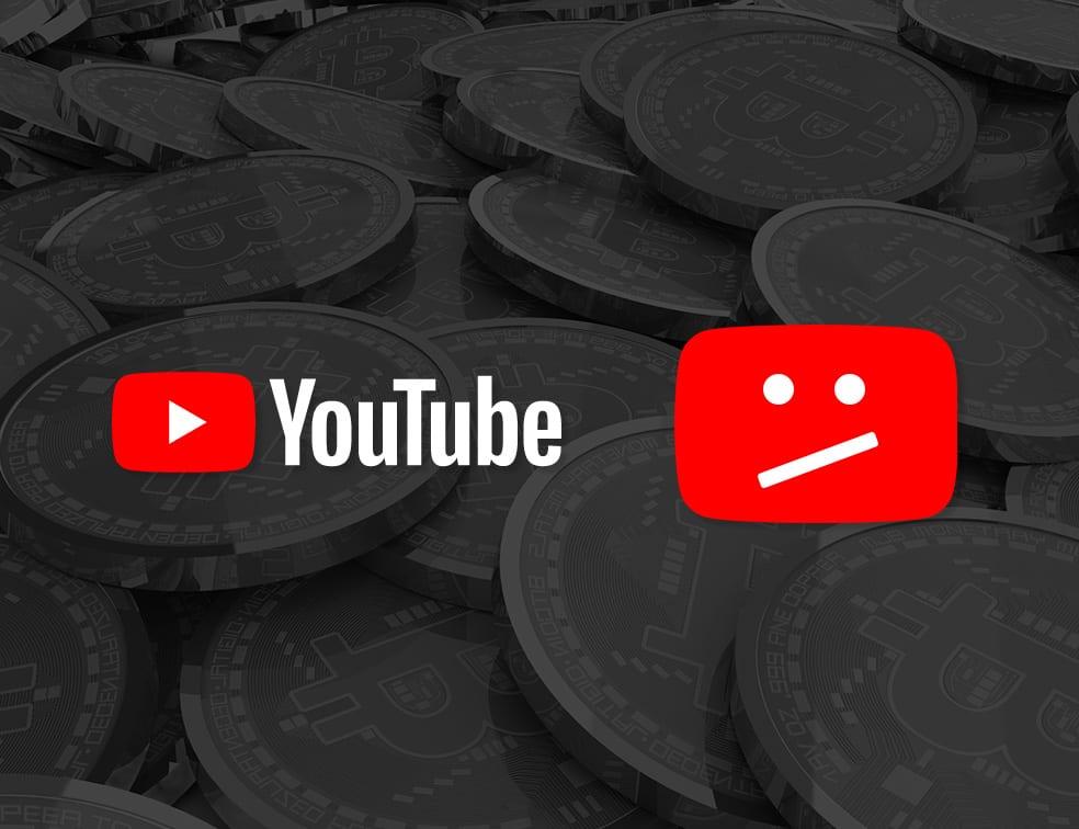 Google разчистиха сериозно YouTube от видеоматериали, свързани с криптовалутите, след