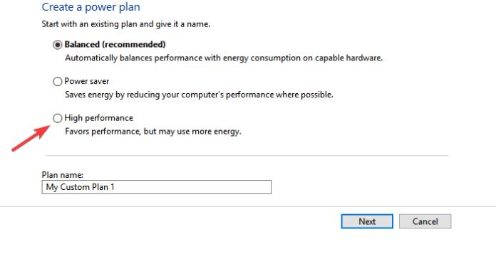 high performance енергиен план