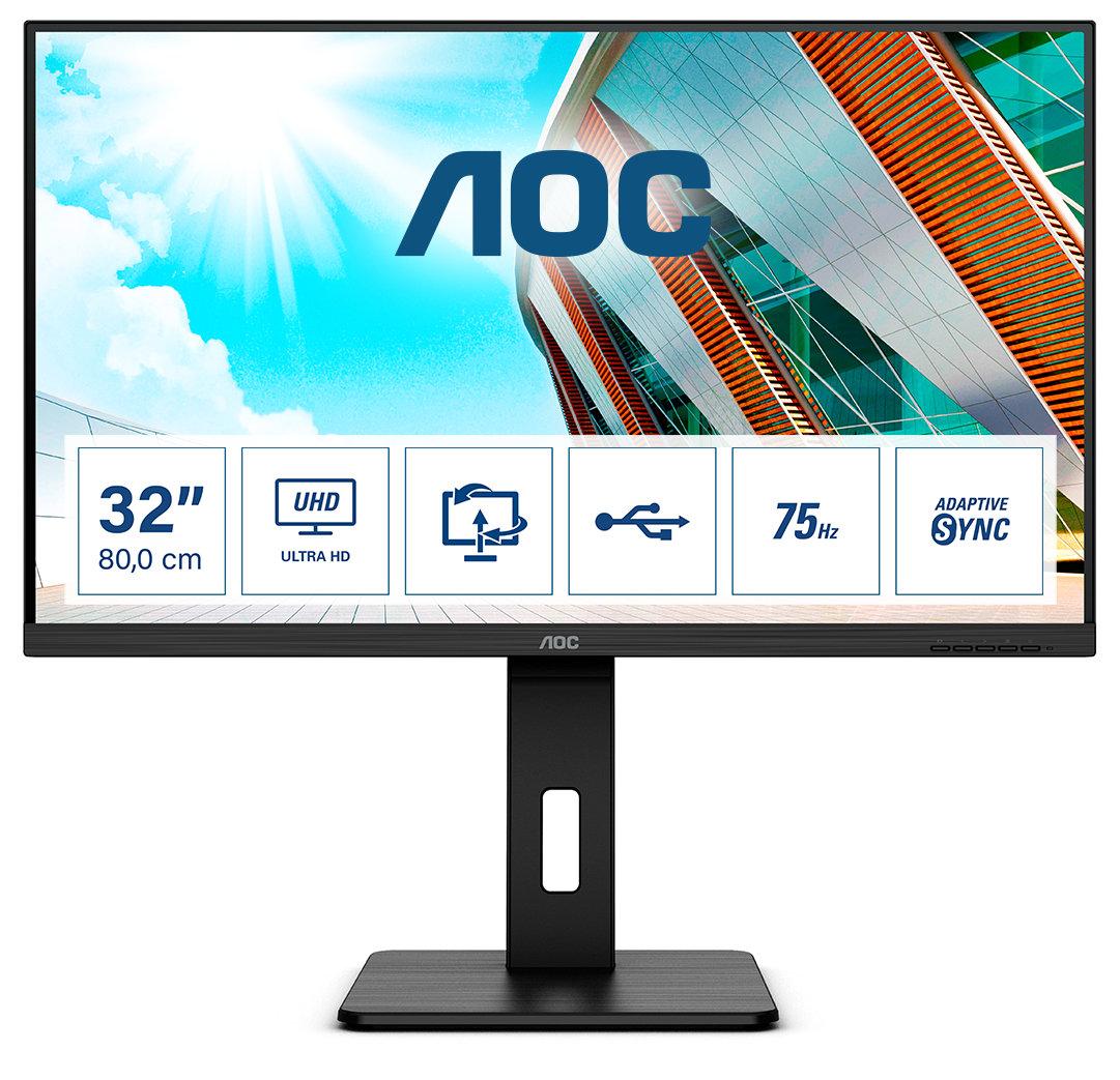 AOC разширява портфолиото си P2 от професионални дисплеи с три