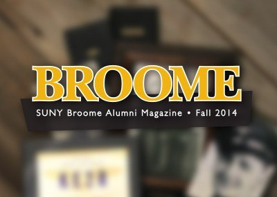SUNY Broome Alumni Magazine Fall 2014
