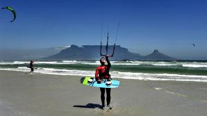 Summertime Sweat: Kitesurfing is the new way to ride waves to a fitter body