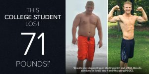 This College Student Lost 71 Pounds With P90X