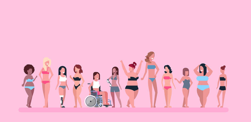 womens body diversity