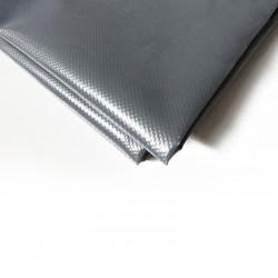 bache pergola 4x3 m ultra resistante etanche anti uv fabrication francaise grise œillets