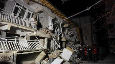 تصویر شمار جانباختگان زمینلرزه ترکیه به ۲۲ نفر رسید