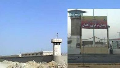 تصویر مبتلا شدن چهار زندانی به کرونا در زندان زاهدان