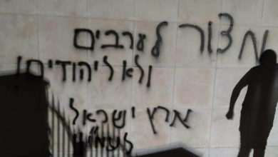 Photo of حمله شهرک نشینیان یهودی به مسجدی در کرانه باختری