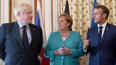 تصویر بریتانیا، فرانسه و آلمان: تعلیق تحریمهای ایران بعد از ۲۰ سپتامبر ادامه مییابد
