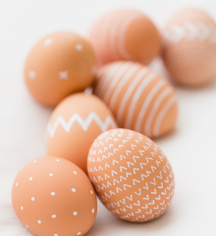 jak nabarvit velikonoční vajíčka