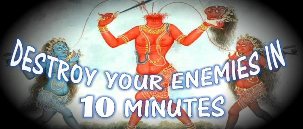 How to Destroy your Enemy Mentally