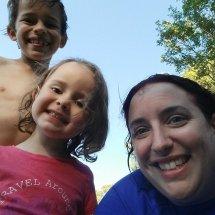 Selfie de Liam, Kali et Jess