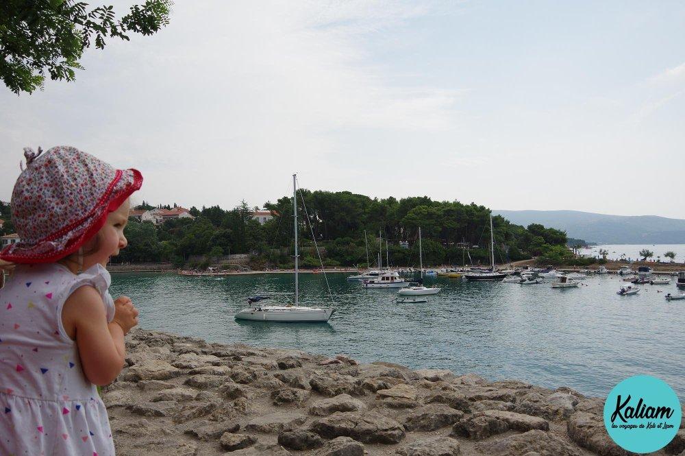 Port de Krk et Léonie
