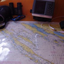 Notre première carte maritime