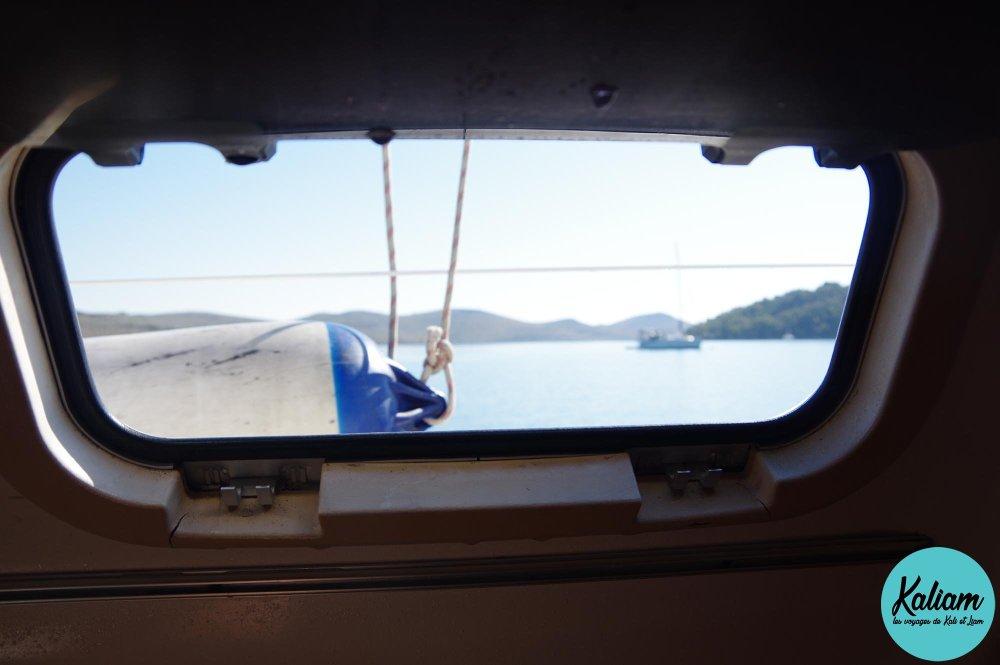Vu vers un autre voilier