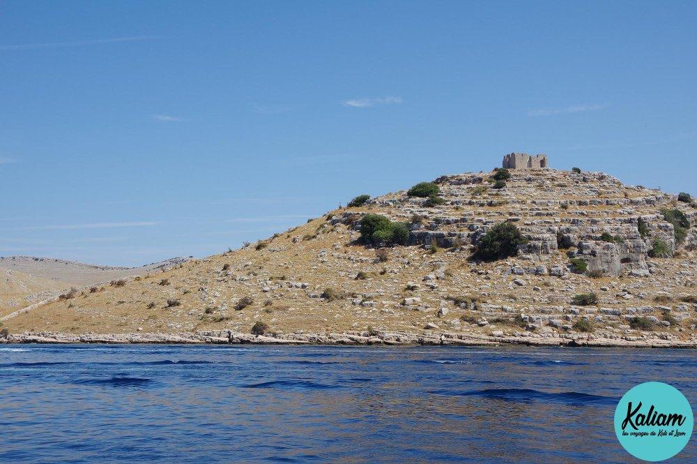 Une ruine à Kornati