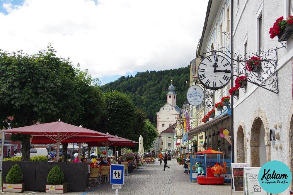 Ville de Gmünd en Autriche