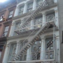Les escaliers de secours à new York