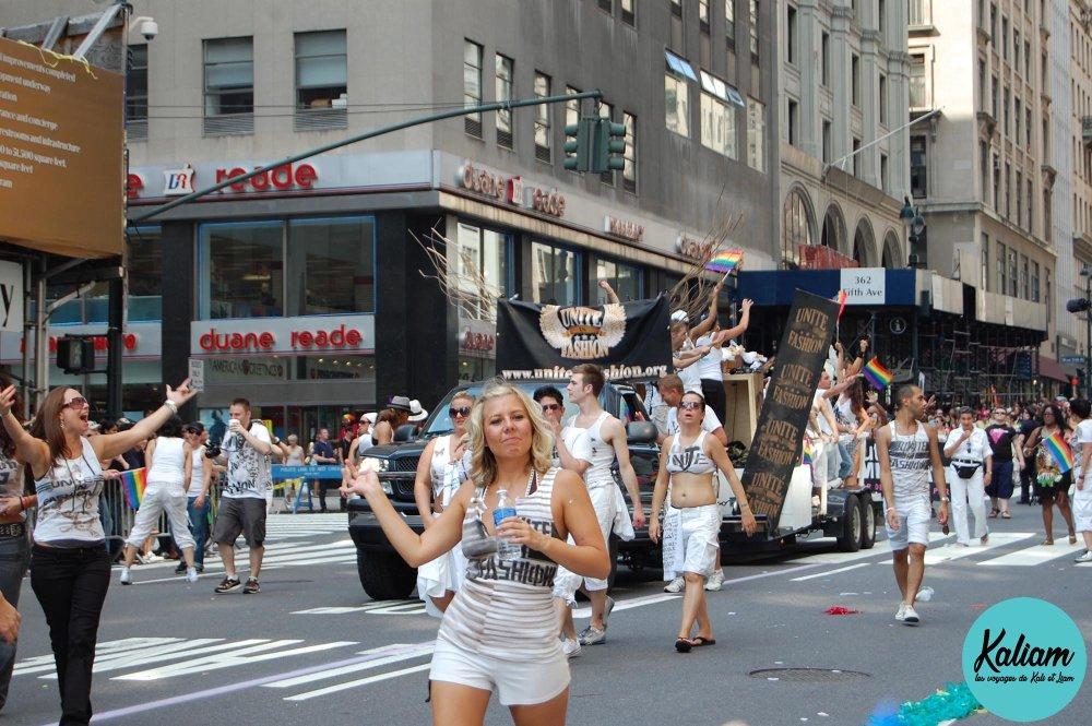 La gay parade