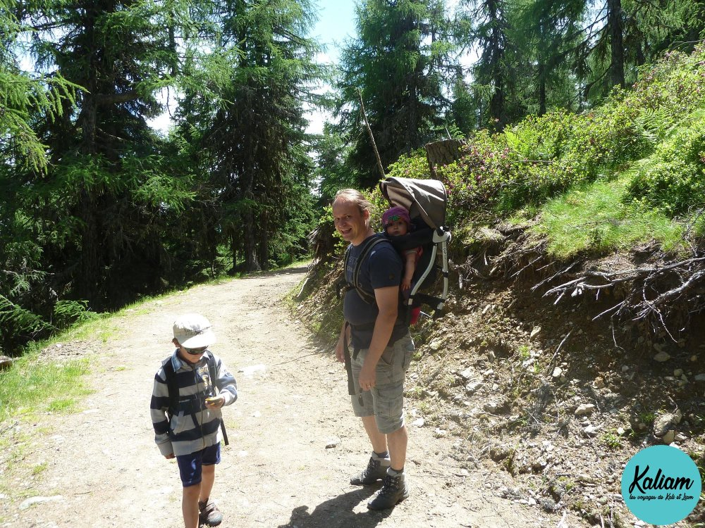 Promenade à Katschberg en Autriche