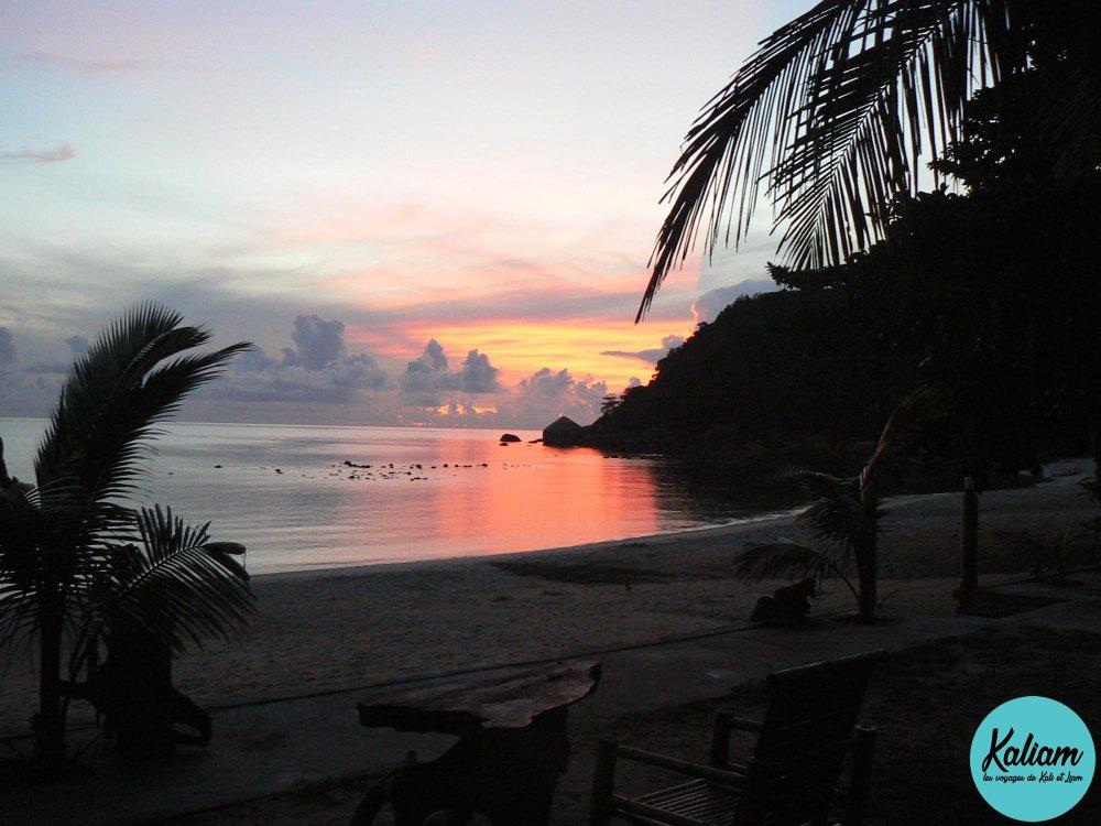 Quel beau lever de soleil à Krabi