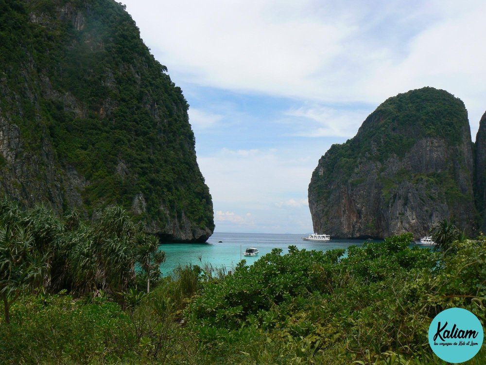 Comme je suis contente d'être venue en Thailande