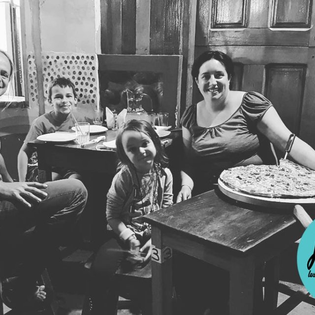 Biggest pizza in Rurrenabaque! travel traveling TFLers vacation visiting instatravelhellip