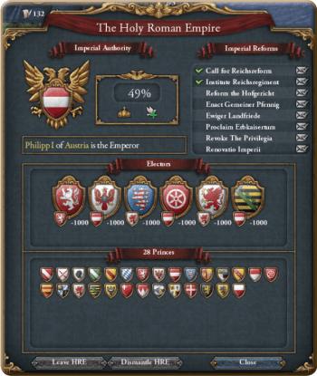 Page du Saint Empire