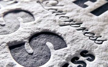 Letterpress, L'effet vintage