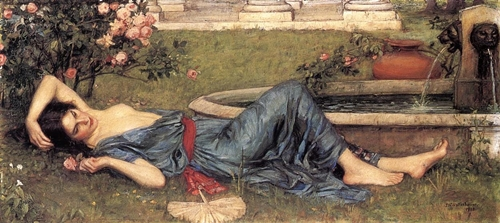Sweet Summer 1912 -- John William Waterhouse