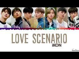Love Scenario by iKON Kalimba Tab