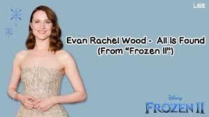 All Is Found by Evan Rachel Wood (Frozen 2 OST) Kalimba Tab