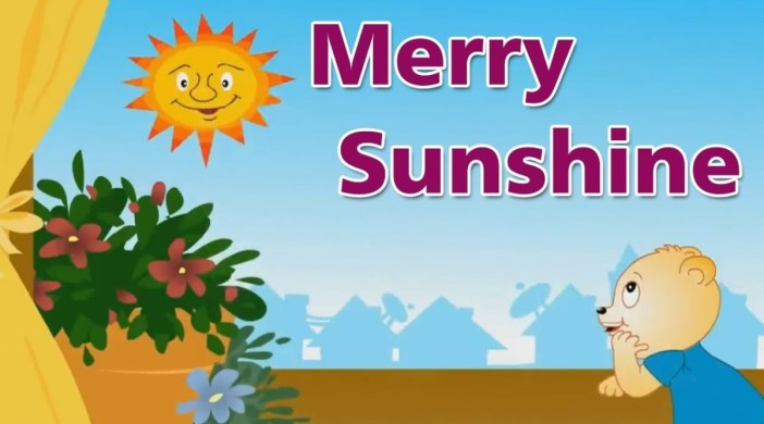 Good Morning Merry Sunshine