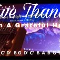 Give Thanks (With a grateful heart)