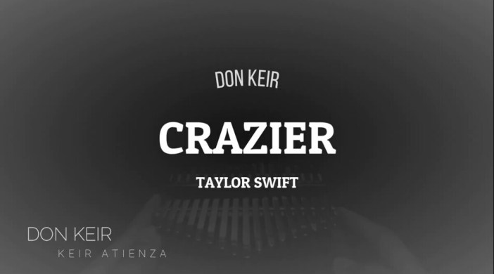 Crazier by Taylor Swift (Hannah Montana The Movie)