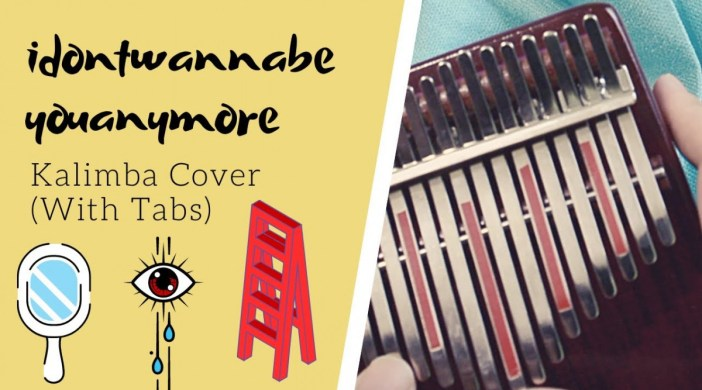 idontwannabeyouanymore 💄 Billie Eilish | Kalimba Cover with Tabs by xindify