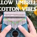 Cotton Vibe - Yellow Umbrella