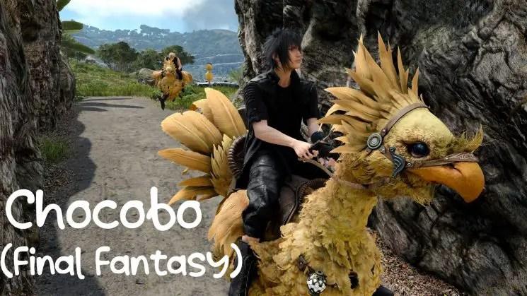 Chocobo (Final Fantasy) Kalimba Tabs