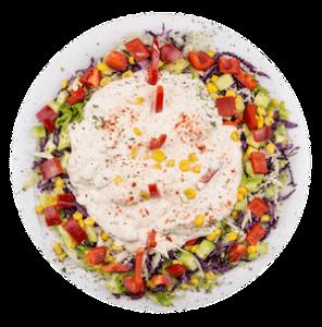 Meksička salata sa pilećim fileom