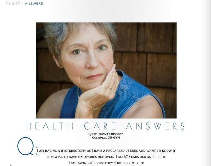 406 Magazine Hysterectomy