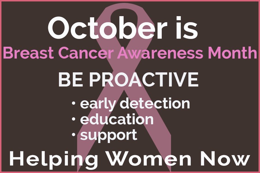 Kalispell-OBGYN October is Breast Cancer Awareness Month
